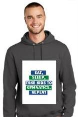 Parent charcoal hoodie